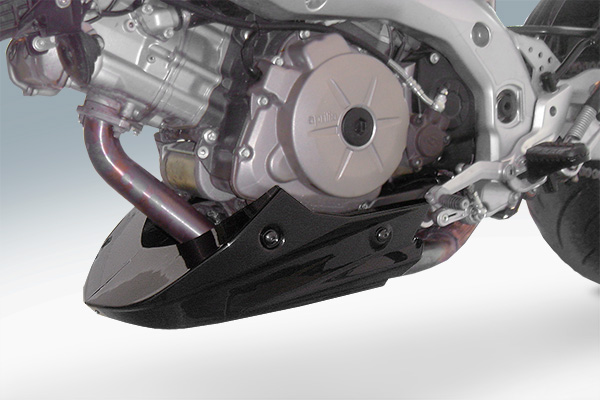 Engine Belly Pan : Engine spoiler belly pan